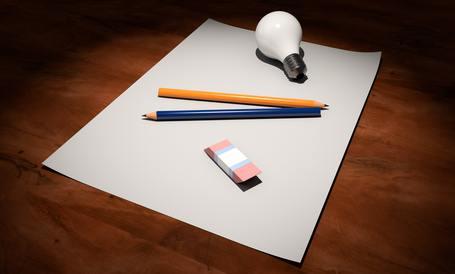 Medium blank creativity design 247772