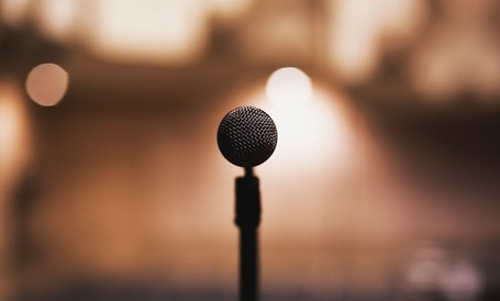 Medium mic mic stand microphone 64057